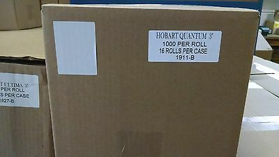 "Hobart Quantum 3"" Blank Scale Labels - Best Price Overall"