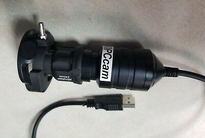 USB Olympus Fiberscope to Video Coupler for Video  Endoscope Endoscopy 24mm lens