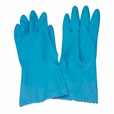 Caterpack Blue Medium Rubber Gloves (Pack of 6) KBMRY067 [CPD00007]