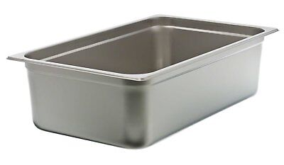 "Update International NJP-1006 6"" Full-Size Anti-Jam Steam Table Pan"