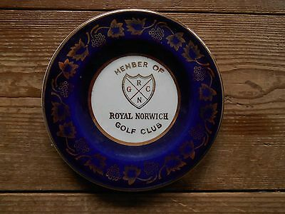 DISH - Royal Norwich Golf Club - by Arklow - 4.25 in/11 cms across