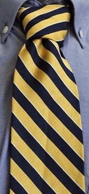 Men's Brooks Brothers Makers Striped Silk Tie Made in USA