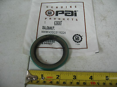 Front Crankshaft Seal for Detroit Diesel Series S53. PAI # 636007 Ref. # 5116224