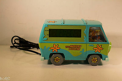 Scooby-Doo MYSTERY MACHINE (Westclox Digital Alarm Clock, 1999) Hanna Barbera