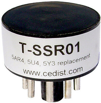 (1x) NEW SOLID STATE RECTIFIER - REPLACEMENT FOR 5Y3 5AR4 5U4 TUBES