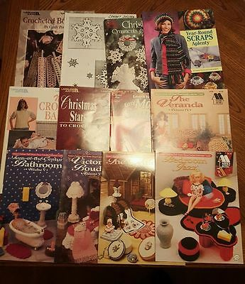 Crotchet books and pamphlets lot