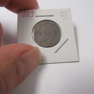 1823 Capped Bust Dime ( Combine Shipping )