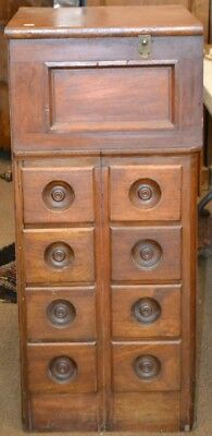 Unusual Apothecary Type Cabinet Lot 606