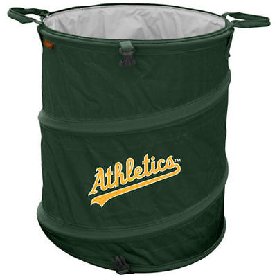 Oakland Athletics Collapsible 3-in-1 Trashcan Cooler - MLB