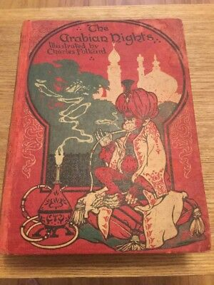 The Arabian Nights Illustrated By Charles Folkard 1St Edition?