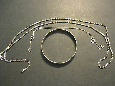 Lot of Vintage Sterling Silver Jewelry 38.8 Grams