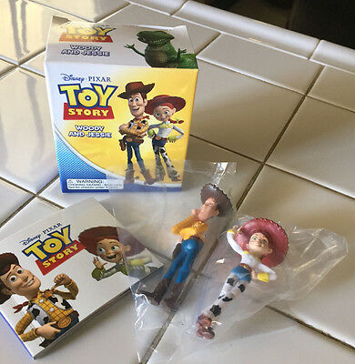 Disney/Pixar Mega Mimi Kit - TOY STORY WOODY AND JESSIE PLAY SET