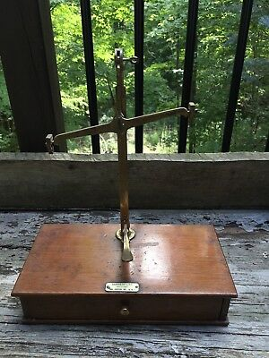 Antique Balance Scale by Sangers Ltd. Shopfitters