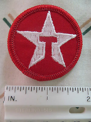 Lot 15 NEW Enbroidered Texaco Star Patch Hat Jacket Shirt Bag Crafts CarShow