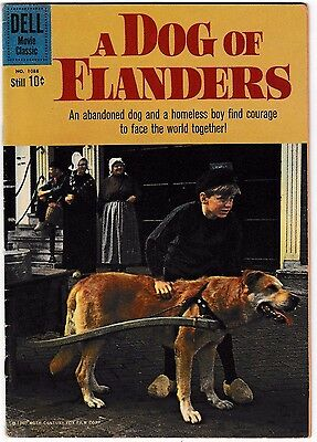 FOUR COLOR 1088 FN+ A DOG OF FLANDERS Classic Movie Comic 1960 Dell Photo Cover