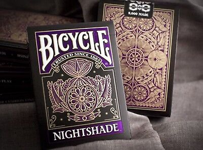 Bicycle Nightshade Playing Cards - New And Sealed