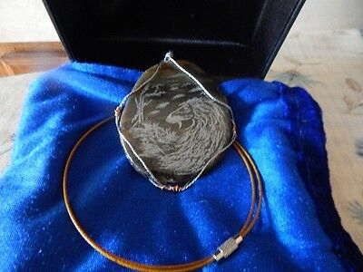 Afghan Hound BIS Sweeps Stone Necklace-King Fundraiser