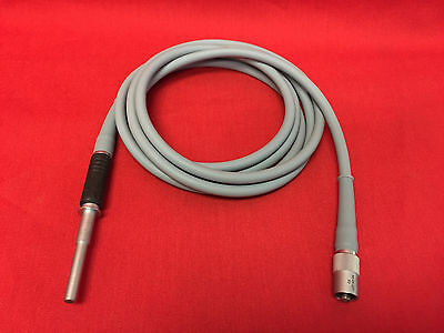 Karl Storz Surgical Fiber Optic Light Cable W/ Adapters 495Na Gray