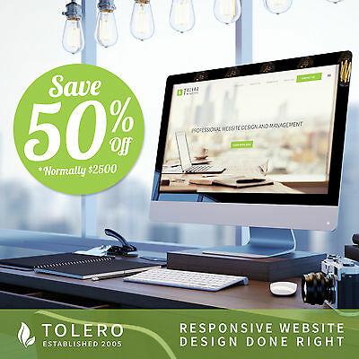 WordPress Website with e-Commerce and Responsive Web Design
