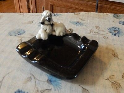Afghan Hound Kay Finch ash tray 'unmarked'-King Fundraiser
