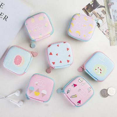 Coin Purse Jewelry Container Memory Card Box Earphone Headphone Storage Case