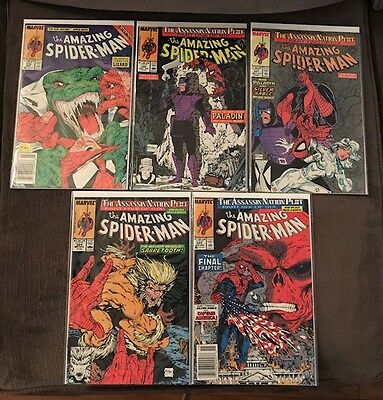 Amazing Spider-man McFarlane (VF lot of 5) 313 - 325 Marvel Comics Venom