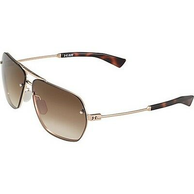 Under Armour 8600083-949627 Double Down Sunglasses Gold Frame