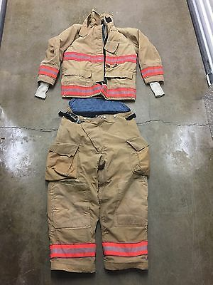 Globe Bunker Gear Set Turnout Gear Jacket & Pants Many Sizes NO CUT OUT