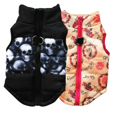 Pet Dog Cat Soft Padded Vest Harness Apparel Puppy Coat Clothes Jacket Outwear