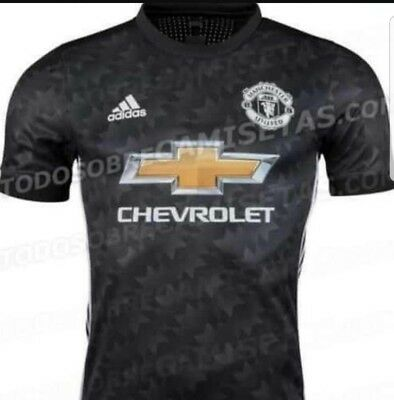 New Official Manchester United Away 2017/2018 Football Shirt Sealed With Tags