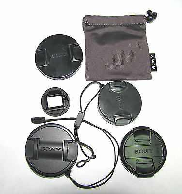 Lot of Genuine Sony Lens Caps for DCR-H and other Digital cameras