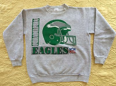 Vintage Philadelphia Eagles size M crew neck sweatshirt VTG #7-108