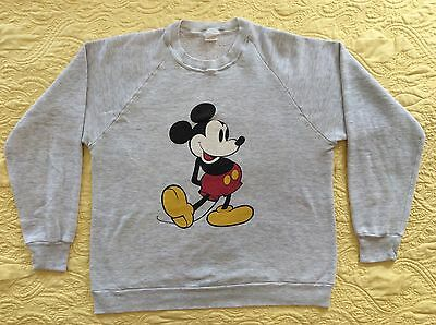 VTG Mickey Mouse Disney sweatshirt Vintage crew neck #7-09