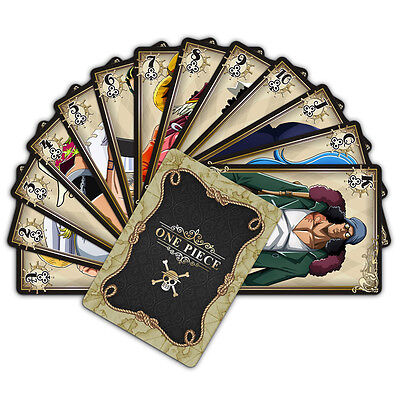 Anime One Piece 54pcs Playing Cards Deck Poker Japan Anime Cosplay Poker Toy