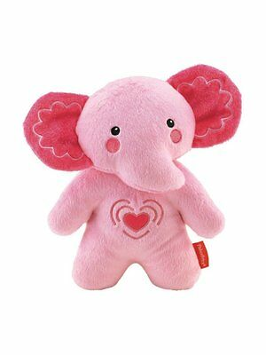 Fisher-Price Calming Vibrations Soother Elephant - Pink & Auspost