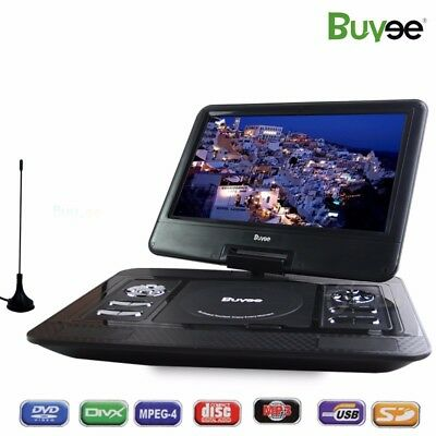 13.3 Inch Rechargeable Portable Remote Car DVD VCD Player GAME/MP4/USB/SD Movies