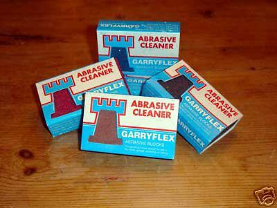 Garryflex Flexible Abrasive Rubber Block  Fine Brown 240 Grit