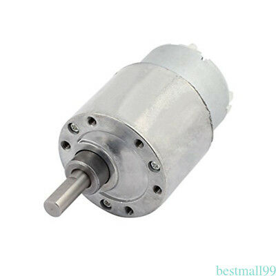 DC 12V High Torque Gear Reducer Electric Moto 60RPM Rotating Speed CY06