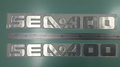 "SEA DOO boat Emblem 22"" Epoxy Stickers Resistant to mechanical shocks"