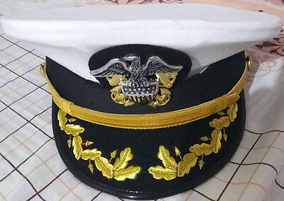 Us Navy Officer Visor Cap