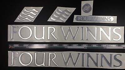 "FOUR WINNS boat Emblem 22"" Epoxy Stickers Resistant to mechanical shocks"