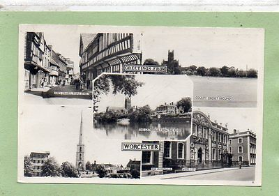 """""postcard Multiview Worcester"""""