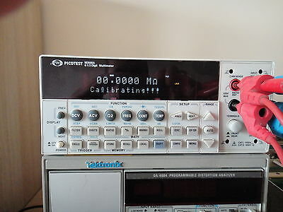 Picotest M3500A 6 ½ Digit Digital Multimeter, Tested & Working, Meet specificat