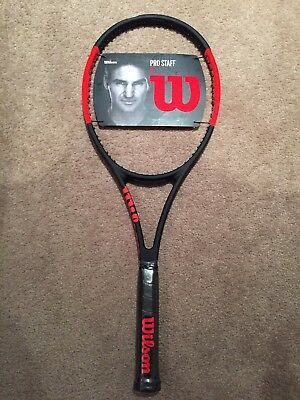 In AU! Wilson Pro Staff 97 (2017 version) tennis racket (designed by Federer RF)