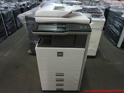 Sharp MX-3100N Kopierer Drucker FAX Scanner Finisher PostScript Hefter Locher