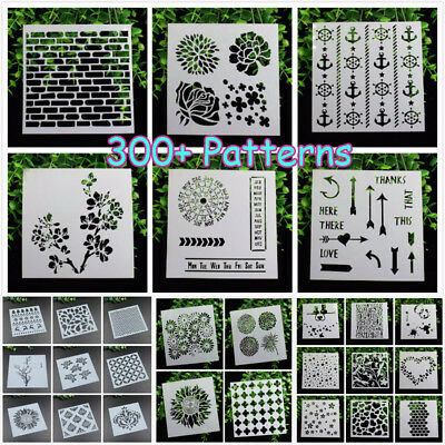 Layering Stencils Scrapbooking Photo Album Decorative Embossing DIY Card Craft