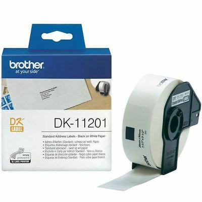Brother Black on White Paper Standard Address Labels (Pack of 400)  [BA62988]