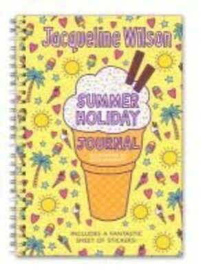 My Summer Holiday Journal by Jacqueline Wilson Hardcover Book