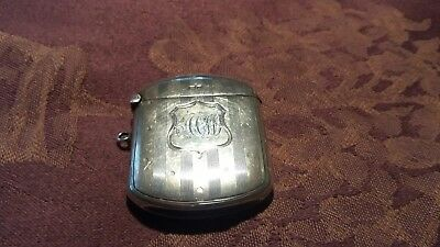 Antique Silver vesta case. Chester