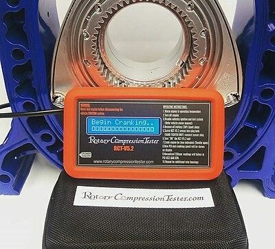 RCTV5.2 Digital Rotary Engine Compression Tester w/ Free RHD Sensor cable ext.
